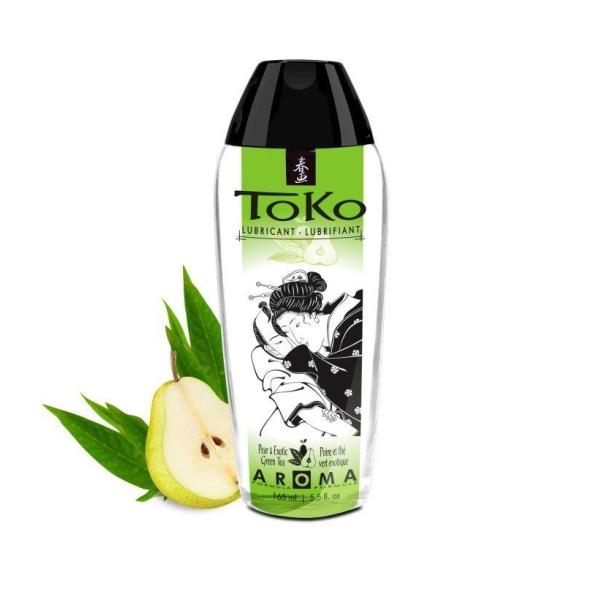 Интимный гель серии TOKO AROMA: аромат Экзотический зеленый чай и груша, 165мл
