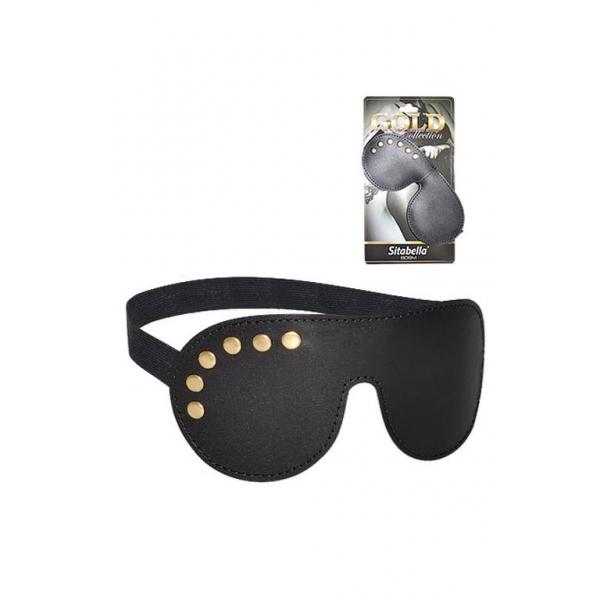 3089-1G BX SIT Кожаная маска Sitabella Gold Collection