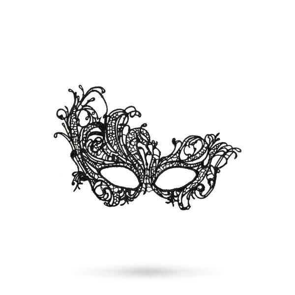 708015 МАСКА НИТЯНАЯ TOYFA THEATRE «СТРАУСИНОЕ ПЕРО», ЧЕРНЫЙ